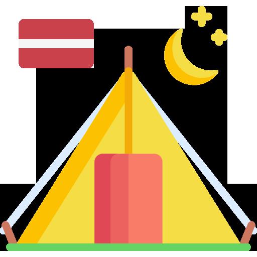 Latvijos kempingai